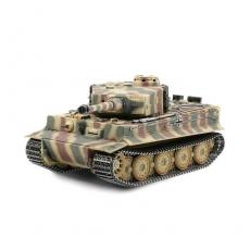 1/16 RC Tiger I Späte Ausf. 2.4 GHz Version mit Metallketten, Metallunterwanne, Metallgetriebe