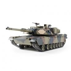 1/16 RC M1A2 Abrams flecktarn BB 2.4GHz mit Metallketten, Metallgetriebe, Metalltreib - und Leiträder