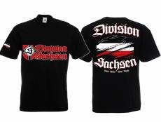Sachsen Division - Meine Heimat, meine Regeln - T-Shirt schwarz