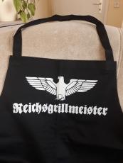 Reichsgrillmeister - Grillschürze/Kochschürze
