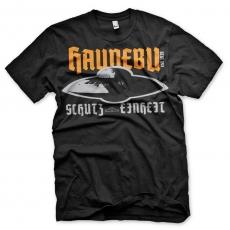Reichsflugscheibe Haunebu - T-Shirt schwarz