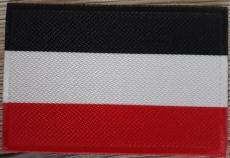 Schwarz, Weiss, Rot - Aufnäher