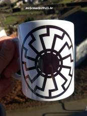 2x Schwarze Sonne - Tasse