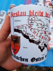 Breslau bleibt deutsch! Vergesst den Deutschen Osten nicht! - Tasse
