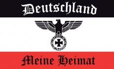 Deutschland - Meine Heimat - wasserfester Aufkleber