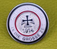 Zur Erinnerung an die große Zeit 1914 - Anstecker