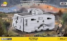 Cobi 2982 Sturmpanzerwagen A7V - Bausatz