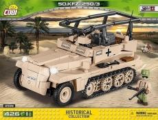 Cobi 2526 Erwin Rommels Sd.Kfz.250/3 - Bausatz
