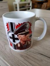 3x Erwin Rommel in Farbe - 4 Tassen