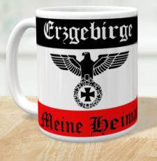Erzgebirge - Meine Heimat - Tasse
