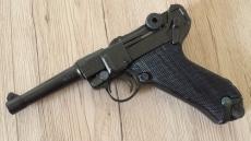 Luger P08 9mm Parabellum Pistole Deko Modellwaffe