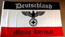 Deutschland - Meine Heimat Fahne 90x60cm