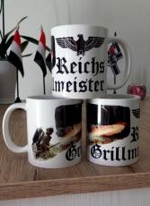 Reichsgrillmeister - 3 Tassen(Rundumdruck)