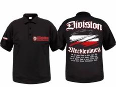 Mecklenburg Division - Meine Heimat - Polo-Shirt schwarz