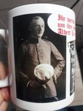 Albert Leo Schlageter - Ihr werdet erleben, wie sie unser Land verschachern - 4 Tassen