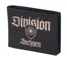Sachsen Division - Kampfgruppe Sachsen - Geldbörse aus Rindleder