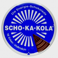 Wehrmacht Schokolade - SCHO-KA-KOLA Vollmilch - 100g Dose