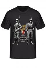 Wehrmacht Ehrenwache Eisernes Kreuz - T-Shirt
