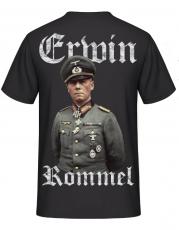 Erwin Rommel - 1940 - T-Shirt Rückemotiv