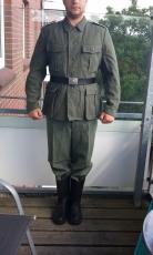 Wehrmacht Uniform Feldbluse M40