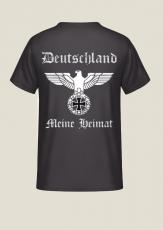 Deutschland, meine Heimat - Reichsadler - T-Shirt