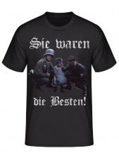 Wehrmacht - Sie waren die Besten! - T-Shirt
