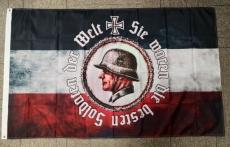 Sie waren die besten Soldaten der Welt - Fahne 150x90cm