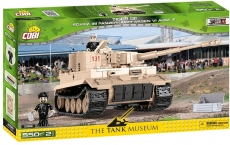 Cobi 2477 Tiger Panzer 131 Afrika Korps Spielzeug Bausatz(Nicht mehr viele da)