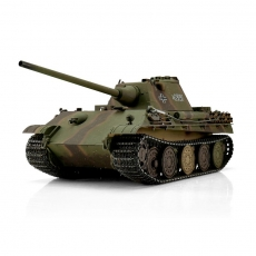 1/16 RC Panther F BB Metallketten, Metalllaufrollen, Metallunterwanne, Metallturm, Metallgetriebe