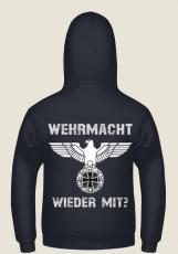 Wehrmacht wieder mit? - Pullover mit Kapuze