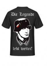 Die Legende lebt weiter! Rückenmotiv T-Hemd