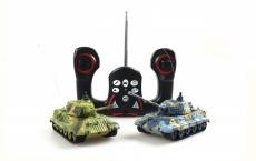 Mini-Panzerkampfwagen VI Tiger II Königstiger 1:72, 27 oder 40MHz