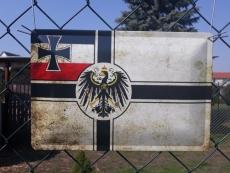Reichskriegsflagge - Blechschild II