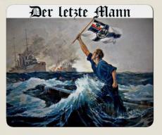 Der letzte Mann - - Mauspad/Untersetzer