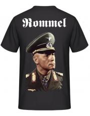Erwin Rommel Color Rücken T-Shirt