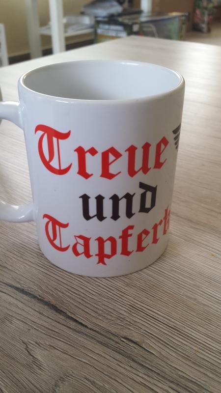 Treue und Tapferkeit Reichsadler - Tasse II