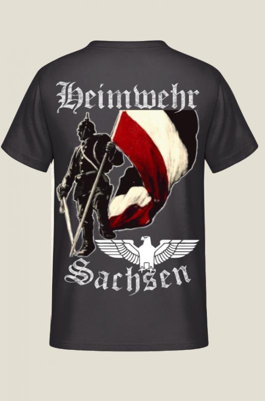 Heimwehr Sachsen Rückendruck - T-Shirt