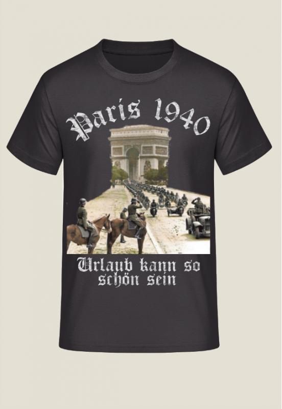 Paris 1940 - Urlaub kann so schön sein - T-Shirt