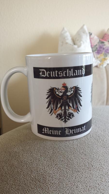 Deutschland - Meine Heimat III - 4 Tassen