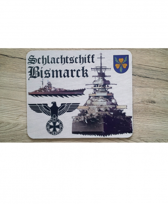 Schlachtschiff Bismarck II - Mauspad