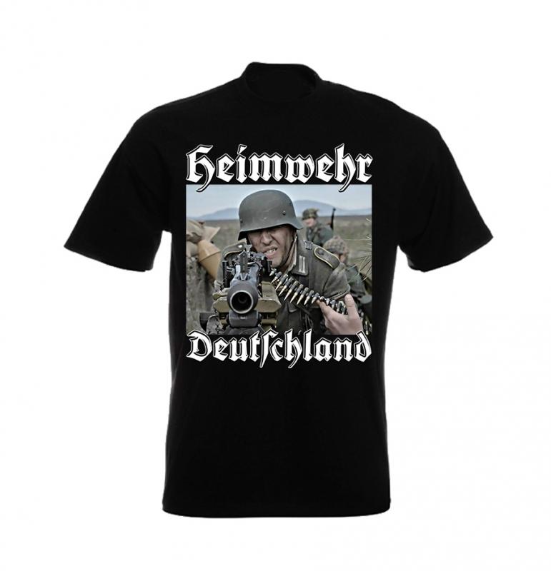 Heimwehr Deutschland - T-Shirt II schwarz