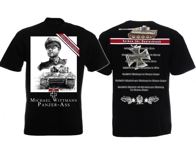 Michael Wittmann - T-Shirt schwarz