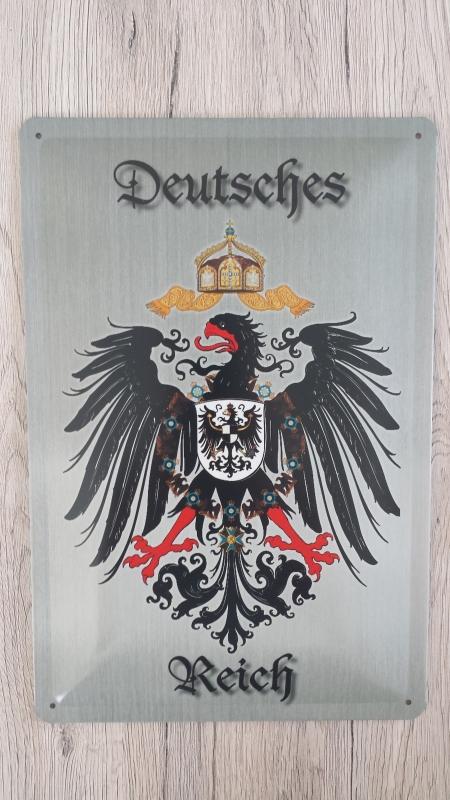 Deutsches Reich - Blechschild
