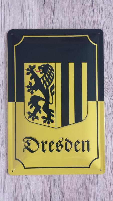 Dresden - Blechschild
