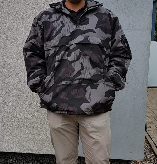 Wehrmacht Splittertarn winddichter COMBAT ANORAK mit Kapuze