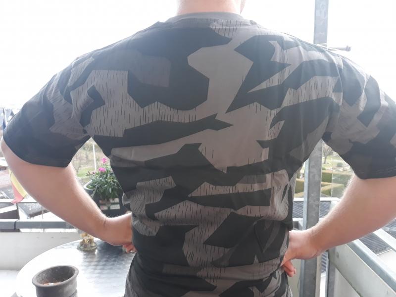 Wehrmacht Splitter Tarn dunkel Splinter Night - T-Shirt