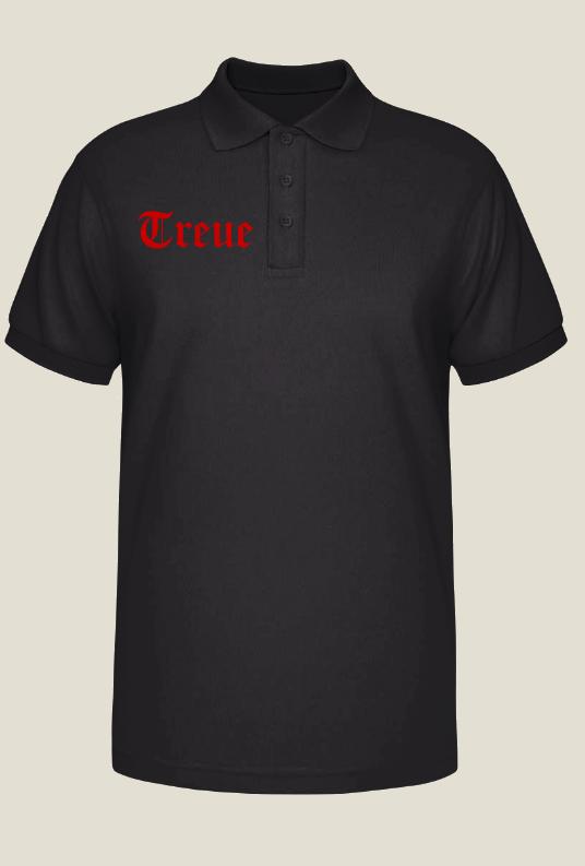 Treue - Poloshirt (Wunschdruck möglich)