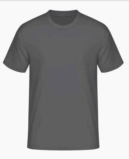 reputable site 00b0d e3f3d T-Shirt ohne Druck - 12 Farben zur Auswahl
