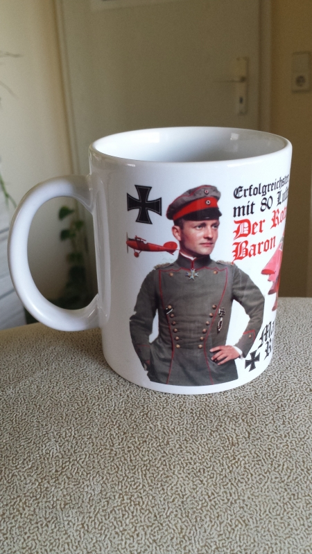 Manfred von Richthofen - 4 Tassen