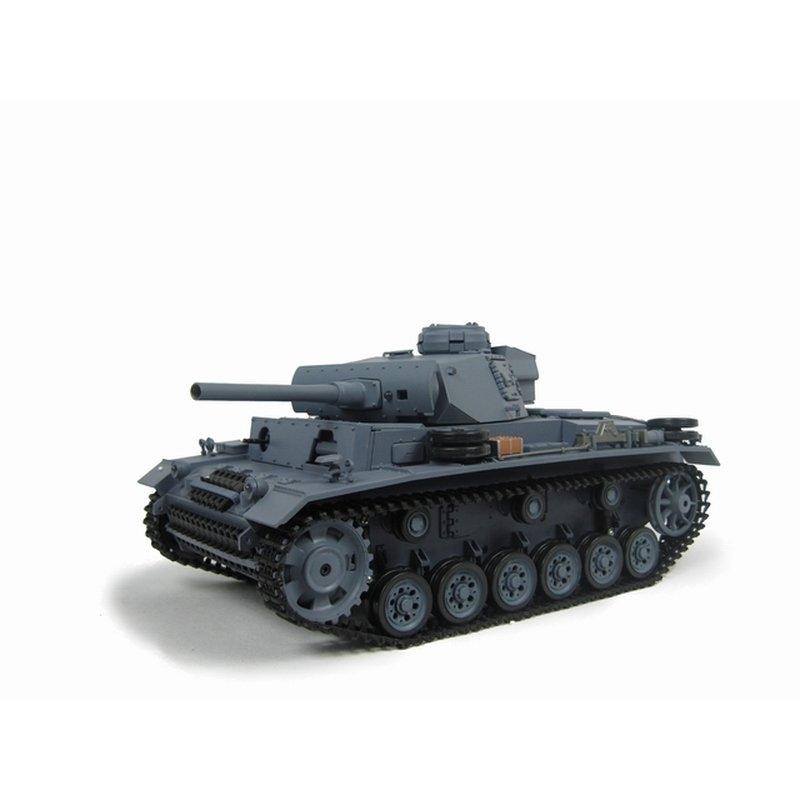 Panzerkampfwagen III Ausf. L grau BB 2.4GHz 1:16 Metallgetriebe